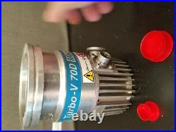 Varian Turbo -V 70 Vacuum Pump used untested condition spins freely