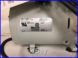 WELCH 2522B-01 STANDARD DUTY VACUUM Pressure PUMP