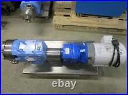 Waukesha Positive Displacement Size 60 Pump