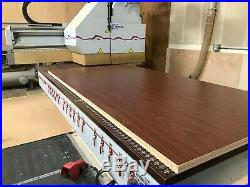 Weeke Optimat BHC 550 Flat Table CNC Router 4x10 table includes vacuum pumps