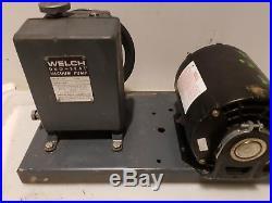 Welch 1399 Duo-Seal Vacuum Pump
