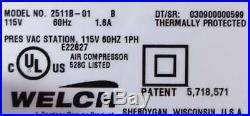 Welch Dry Vacuum Pump/Compressor 2511B-01