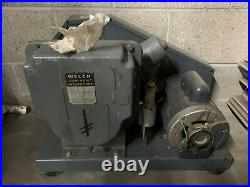Welch Duo Seal Two Stage High Vacuum Pump Model 1397 (Untested)