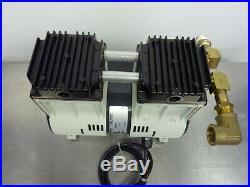Welch Ilmvac 2585B-01 Dry Vacuum Diaphragm Pump Oil-Free 1/3HP 250W (211115)