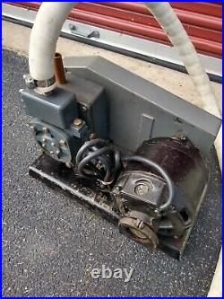 Welch Model 1400 Duo-Seal Vacuum Pump with GE Motor UNTESTED