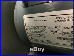 Welch Vacuum 1397 Duo Seal Vacuum Pump 300 RPM with Gauge USED (7545) R