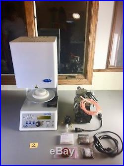 Whip Mix Pro 100 Dental Furnace Oven With Vacuum Pump, Porcelain, Jewelry, Art