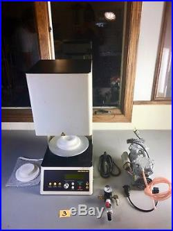 Whip Mix Pro 100 Porcelain Furnace, Vacuum Pump, Porcelain, Dental, Art, Jewelry