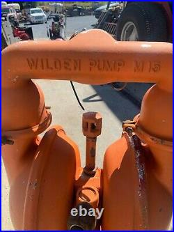Wilden 15 Air Operated Double Diaphragm Transfer Pump 3 M15 125 psi M 15