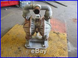 Wilden 8 Aluminum Diaphragm Pump #58118j No Tag Port2 MILD Rust Used