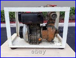 Yanmar Diesel Engine Fire Pump 29536, 7.1kW, Yanmar L100EE-DYC