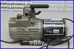 Yellow Jacket 93460 SuperEvac 2 Stage HVAC Vacuum Pump 6 CFM 115V/60Hz