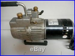 Yellow Jacket 93460 SuperEvac 2 Stage HVAC Vacuum Pump 6 CFM 115V/60Hz Tested