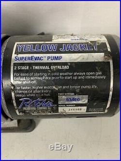 Yellow Jacket 93560 Super Evac 6 CFM Vacuum Pump