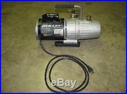 Yellow Jacket Bullet 2 stage vacuum pump 93600 7 cfm 115 Volt 1 phase