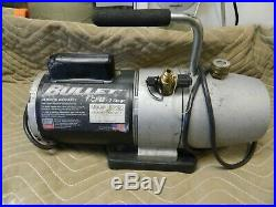 Yellow Jacket Bullet 93600 7.0 CFM HVAC 2 Stage Vacuum Pump Tool Made In USA