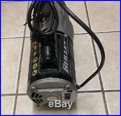 Yellow Jacket Bullet 93600 7 CFM 2 Stage Vacuum Pump. Works Great