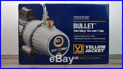 Yellow Jacket Bullet Vacuum Pump Two Stage 7 CFM Pump In Box Refrigeration HVAC