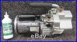 Yellow Jacket Superevac 93560 Vacuum Pump